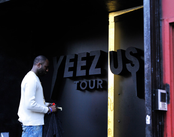 Kanye West Yeezus Tour Pop-Up Store in NYC 3