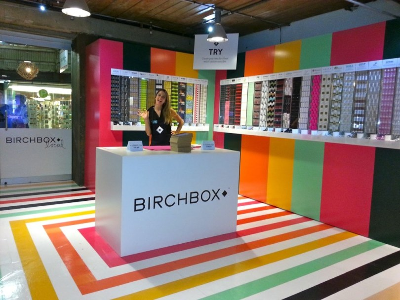 Photoroll First Ever Birchbox Pop Up Shop