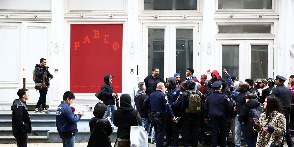 Kanye West Pablo Pop-Up Store