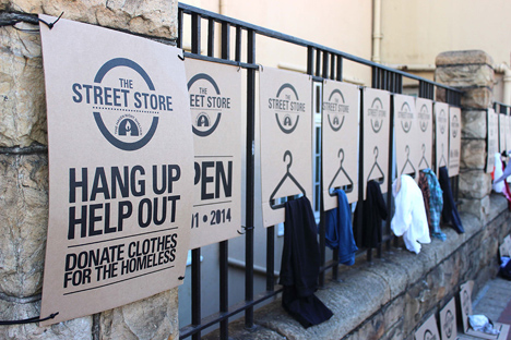 the street store popup