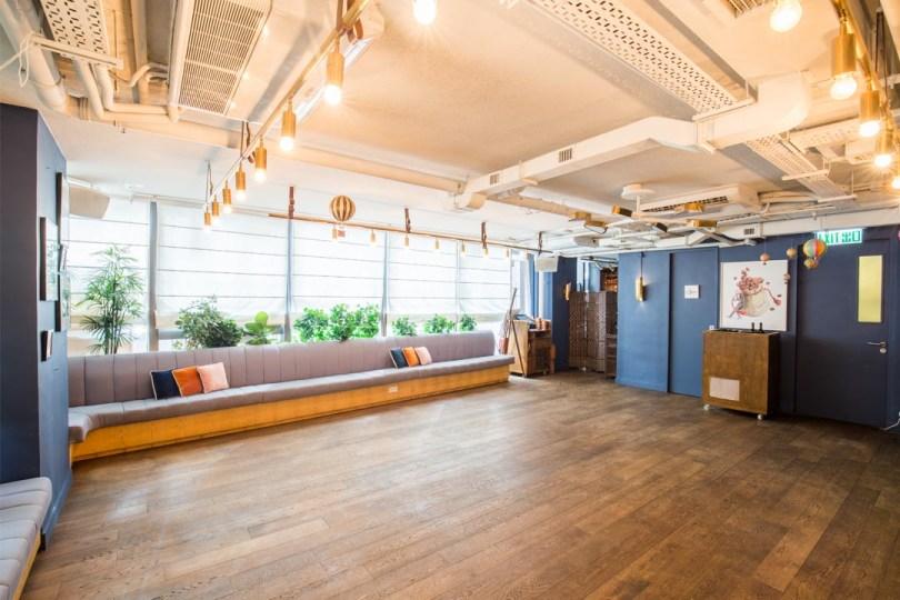 中環裝潢精緻的悠閒空間,適合開設期間限定店
