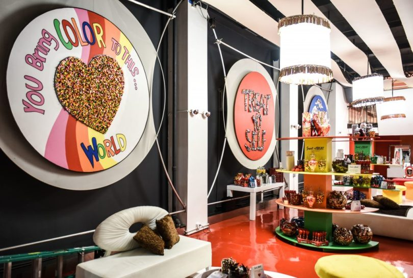 MARS Treats The Public To A Candy-Filled Pop Up Salon - Storefront Blog
