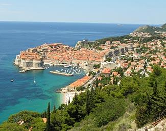 Again amazing - Dubrovnik, Croatia, where we spend two nights