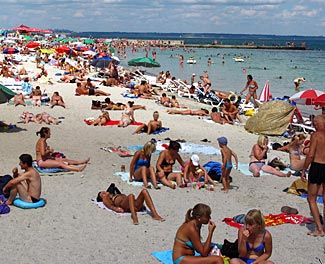 Sunny Odessa on the shores of the Black Sea.  We visit on days 12 u0026amp; 13.