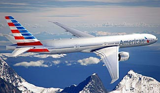 American Airlines' new livery