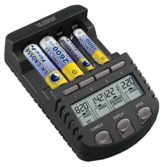 The LaCrosse BC1000 Battery Charger gives you best control over and longevity with your rechargeable batteries.