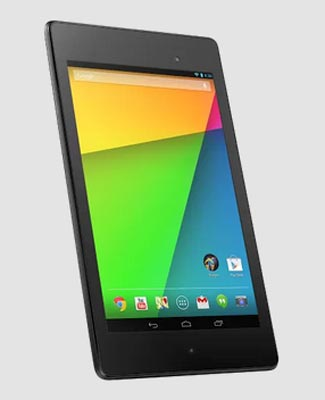The latest Nexus 7 has a stunning high resolution screen and better color reproduction.  Plus lots more new goodies too.