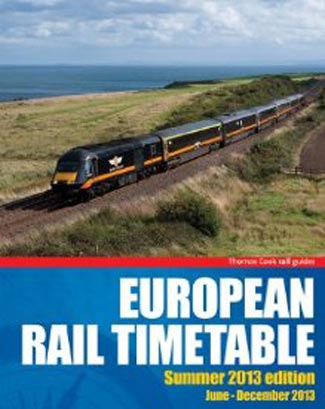 The venerable Thomas Cook European Rail Timetable, 1873-2013, RIP.