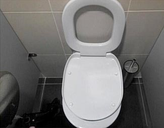 Another Sochi Olympics toilet picture.  Lots more Sochi picture links below.