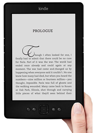 Amazon's Kindle, now on sale for as little as $49.