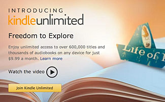 Amazon's new Kindle Unlimited book reading service is interesting but not compelling.