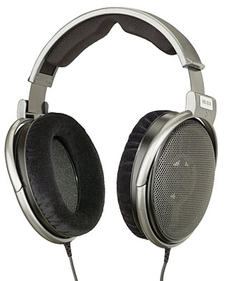 The Sennheiser HD 650 headphones are another step further on the quality path.