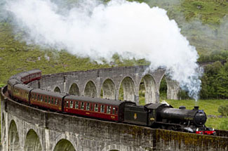 We ride the 'Harry Potter Steam Train' as part of our Scotland's Islands and Highlands experience next June.