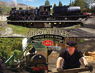 The train is just one part of a new rich variety of experiences offered in the 200 acre Kingston Heritage Park.