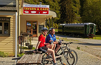 The included Kingston Tavern & Cafe will be popular with passengers and cyclists alike.