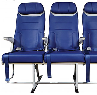 So how did Southwest make its seats 'wider' without taking up more space?  Read below.