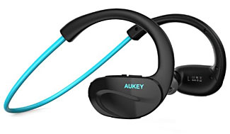 The headphones sit securely but comfortably on your head, and are available in several colors.