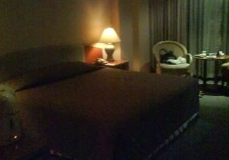 If your hotel room looks like this, use these 'facts and figures' to boost your complaint when asking for extra light.