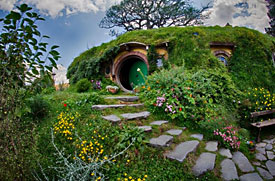Lord of the Rings fan? You'll want to visit Hobbiton, then!
