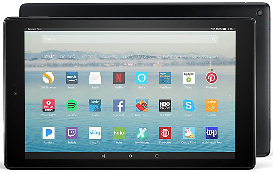 Amazon's New Fire HD 10 - Good After the Initial Disappointments