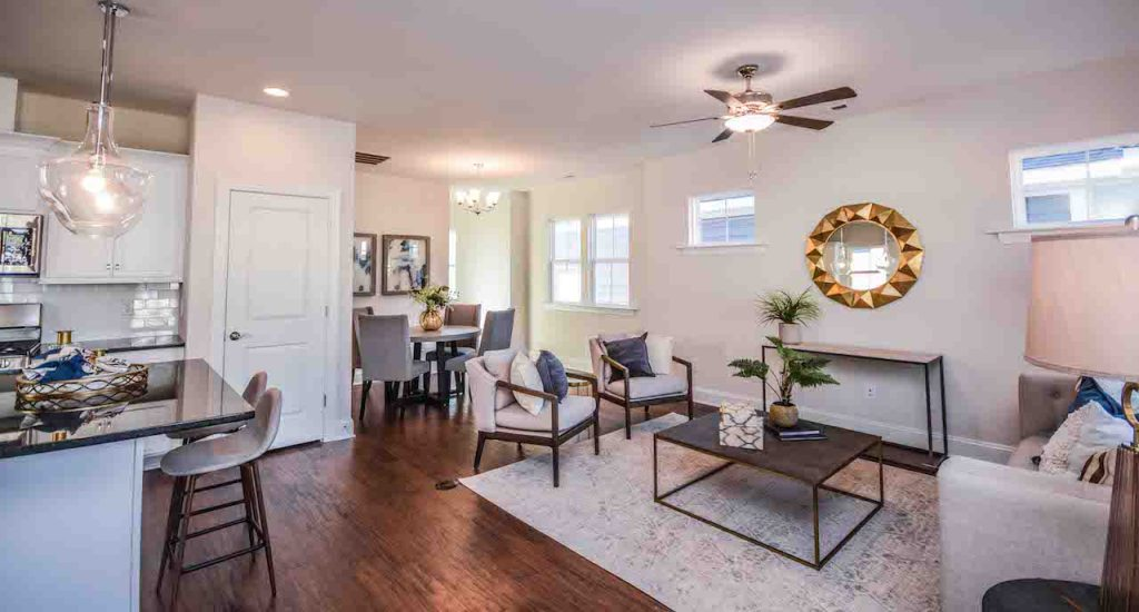 luxury living space for retirement buyers