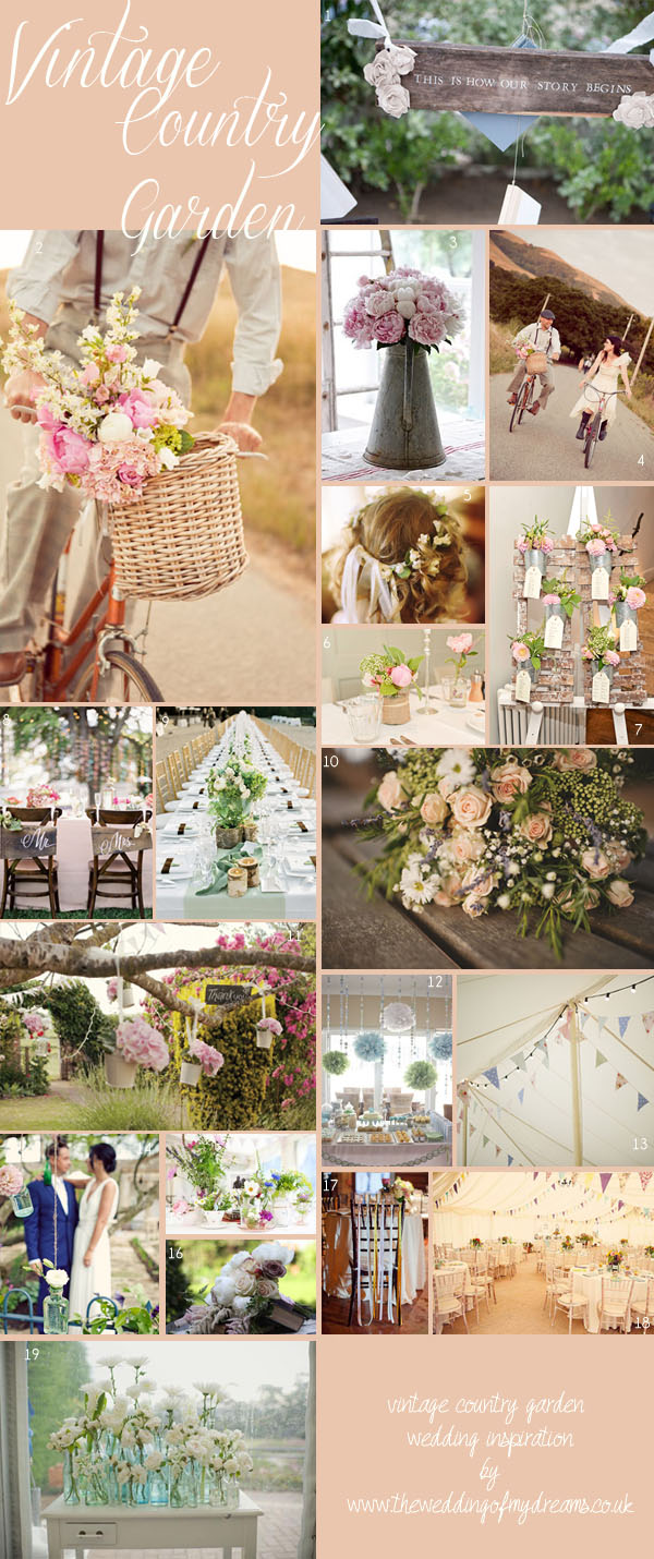 Vintage Country Garden Wedding Ideas The Wedding Of My DreamsThe