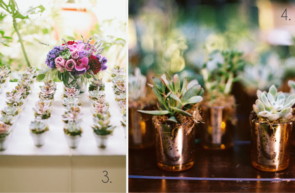 Potted Plants Wedding Favours Ideas  Inspiration