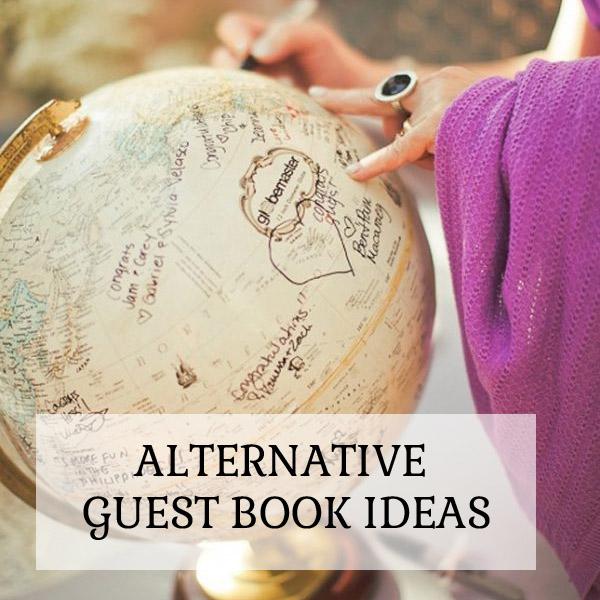 Alternative Guest Book Ideas for Summer Weddings