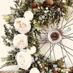 Old Rustic Cart Wheel Wedding Ideas Displays Venue Styling