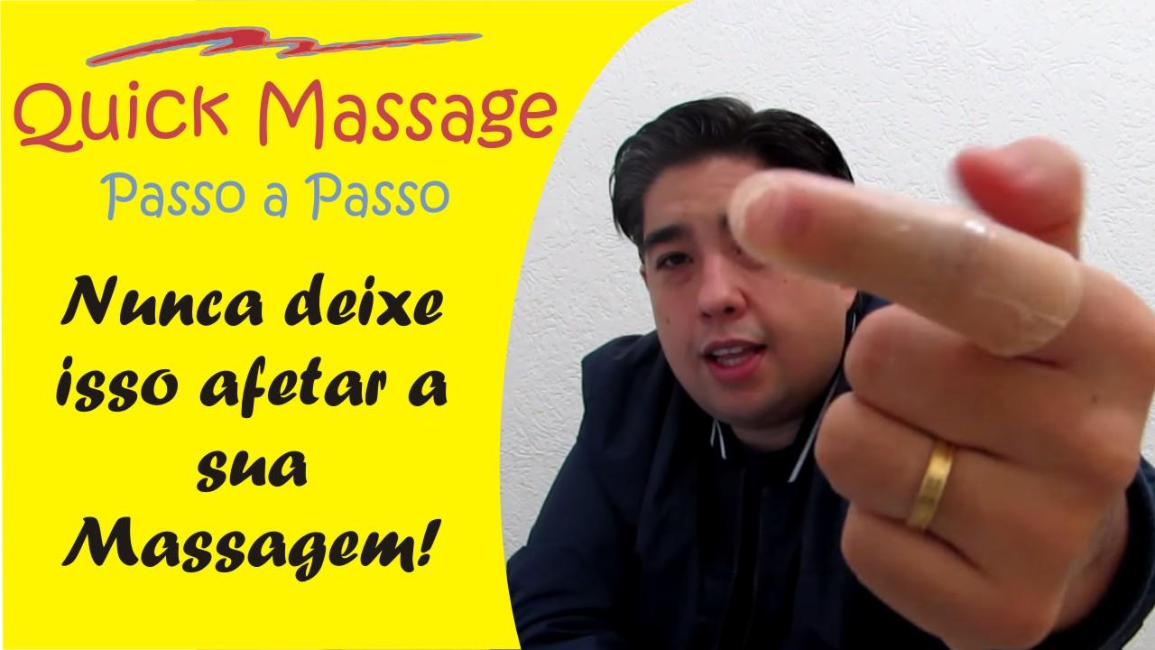Nunca Deixe Isso Afetar a Sua Massagem na Cadeira