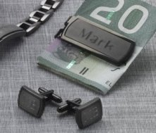 Money Clip & Cuff Links