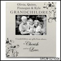 Grandchildren Wood Frame