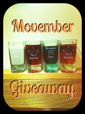 Shot Glass Giveaway