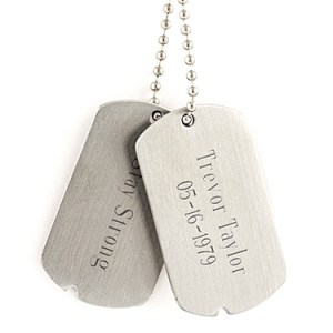 Military Style Dog Tags Things Engraved
