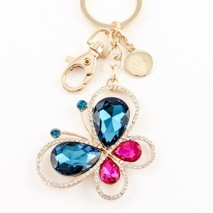 Butterfly Bling Keychain