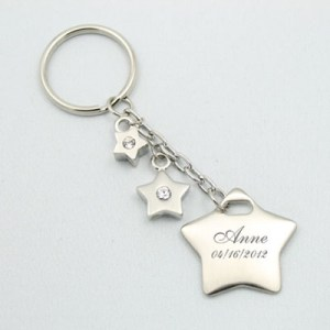 Keychain - Star & Mini Stars