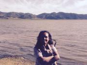 Atsede Tsehayou, Thinking Schools Ethiopia co-lead trainer at Lake Ashenga in Korem.