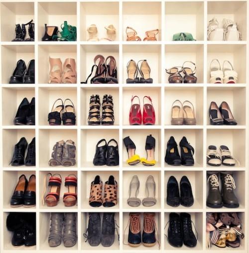 des idees de rangement chaussures