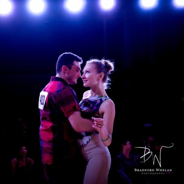 Jb Brodie and Ksenia Sheina Nomberg: Photo Credit - Brad Whelan