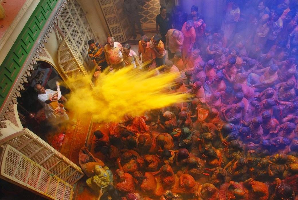 Image result for Jaipur holi celebration