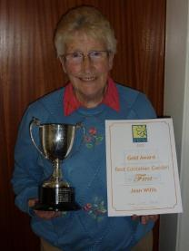 Jean Willis - Gold Award First for Best Container Garden, Bournemouth in Bloom 2012