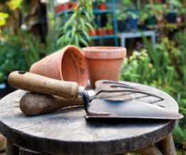 Top tip: Clean tools to prevent rusting