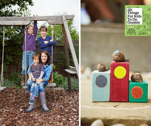 Ideas to keep children occupied outside