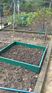 Raised bed preparation