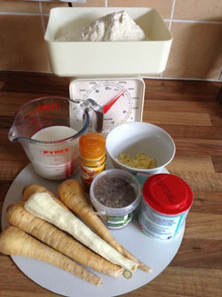 parsnip scone ingredients
