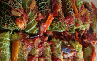 From Rake To Bake – Stuffed Cabbage Rolls