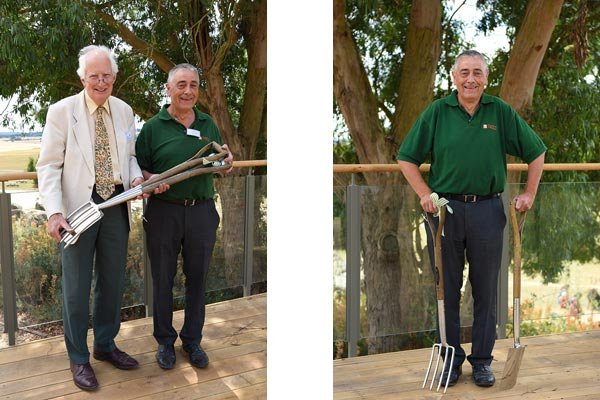 T&M's highly-regarded horticulturalist celebrates 50 years in horticulture
