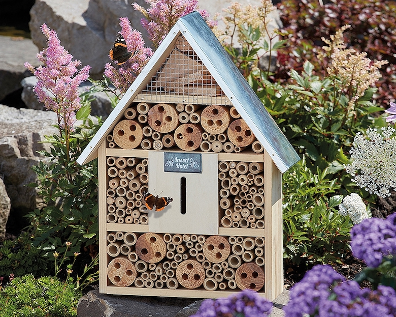 Garden Life Wooden Insect Hotel from Thompson & Morgan - available now