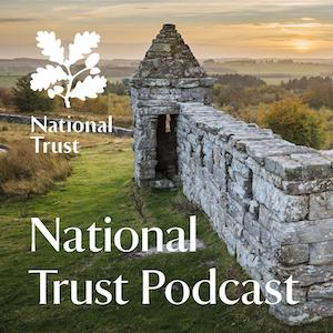 Logo of the National Trust podcast