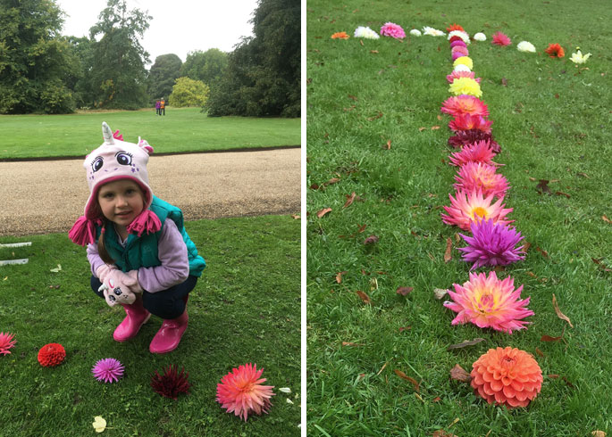 Dahlias appeal to young and old
